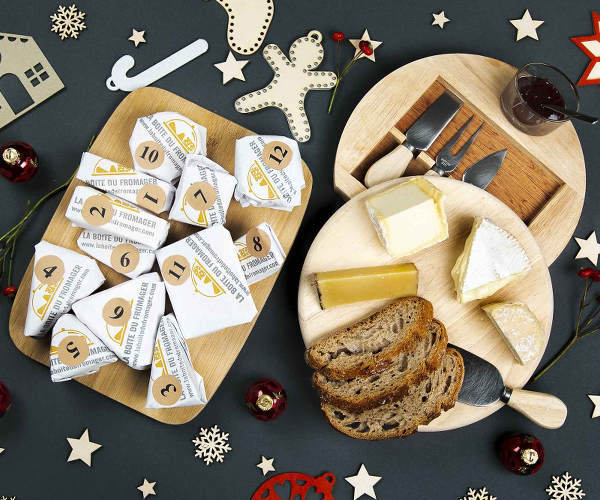 Calendrier avent fromage